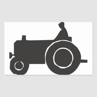 Tractor Silhouette Stickers
