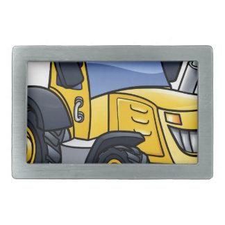 Tractor Vehicle Cartoon Rectangular Belt Buckles