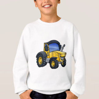 Tractor Vehicle Cartoon Sweatshirt