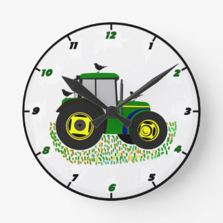 Tractor Wall Clock