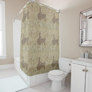 Tractor & Wheat Shower Curtain