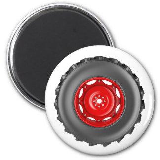 Tractor wheel magnet