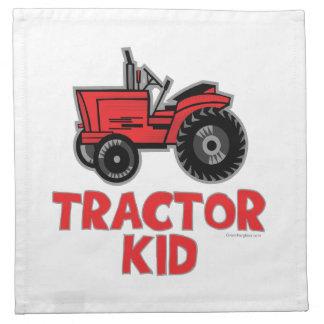 tractorkid_red napkin