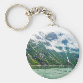 Tracy Arm, Alaska Basic Round Button Keychain