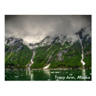 Tracy Arm, Alaska Postcard