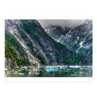 Tracy Arm Fjord in Alaska Postcard