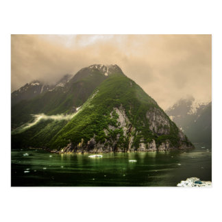 Tracy Arm Fjord in Alaska Postcard