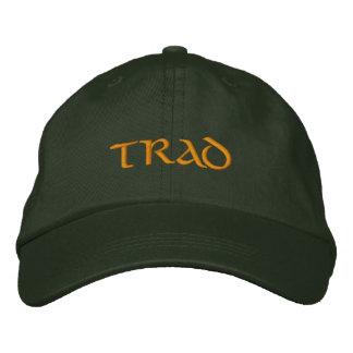Trad (Irish Traditional Music) flexfit ballcap Embroidered Hat