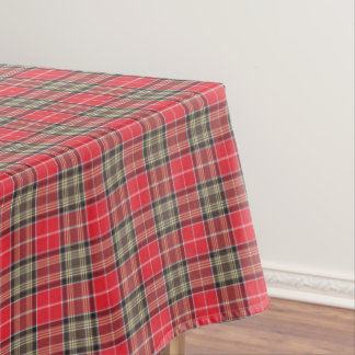 Tradditional Scottish Tartan Clan Plaid Patterned Tablecloth