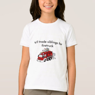 Trade Siblings Firetruck T-Shirt