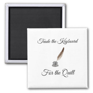 Trade the Keyboard for the Quill Magnet