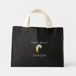 Trade the Keyboard for the Quill Mini Tote Bag