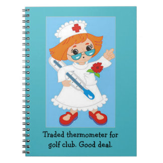 Traded Thermometer for Golf Club - Good Deal Notebook