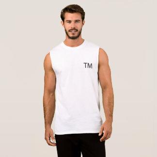 Trademark Men's Sleeveless T-Shirt -White