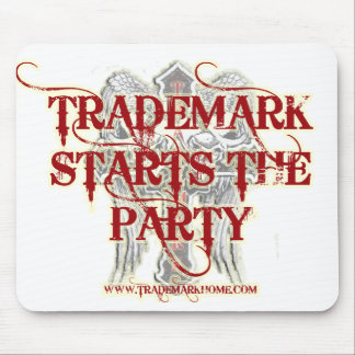 Trademark mouse pad