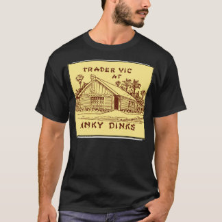 Trader Vic at Hinky Dinks, Oakland, CA, circa 1937 T-Shirt