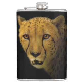 Trading Glances with a Magnificent Cheetah Flask