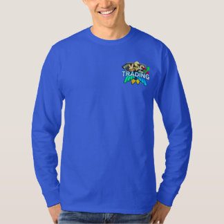 Trading Men's blue Long sleeve T-Shirt