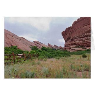 Trading Post Trail Rock Landmarks Card