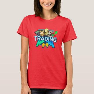 Trading Women's red T-shirt