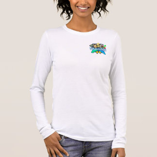 Trading Women's white Long sleeve Long Sleeve T-Shirt