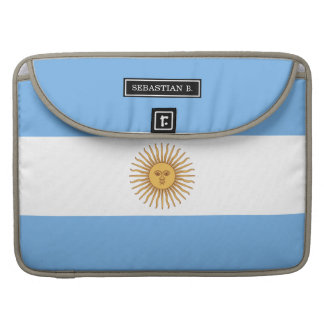 Traditional Argentina Flag MacBook Pro Sleeves