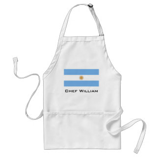 Traditional Argentina Flag Standard Apron