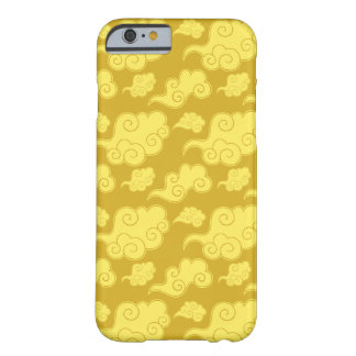 Traditional Asian/Chinese Golden Cloud Pattern Barely There iPhone 6 Case