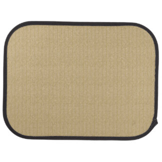 Traditional bamboo car mat