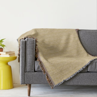 Traditional bamboo throw blanket