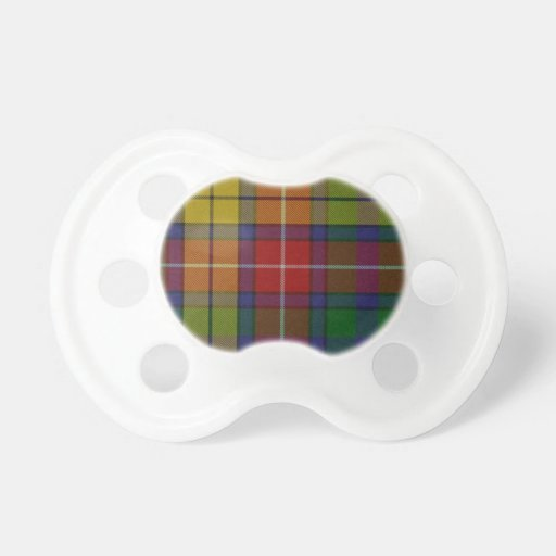 Traditional Buchanan Plaid Baby Pacifier