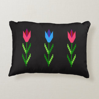 Traditional Bulgarian Pattern Accent Pillow