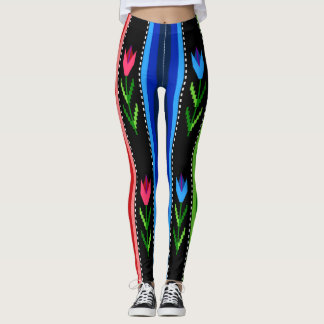 Traditional Bulgarian Pattern Leggings