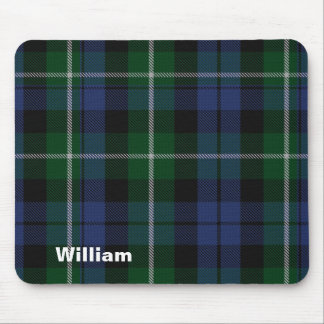 Traditional Campbell Clan Tartan Plaid Mouse Pad