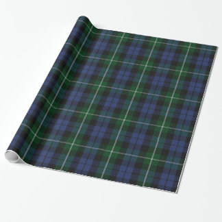 Traditional Campbell Tartan Plaid Wrapping Paper