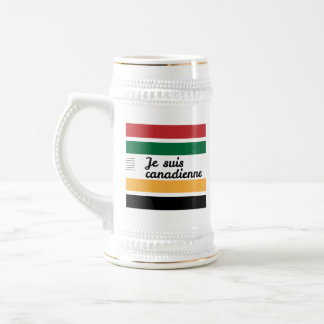 Traditional Canadian Blanket (French - Fem.) Stein