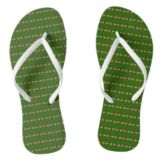 Traditional Canal Art flowers bywhacky flipflops