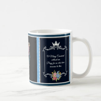 Traditional Catholic Virgin Mary Prayer Mug