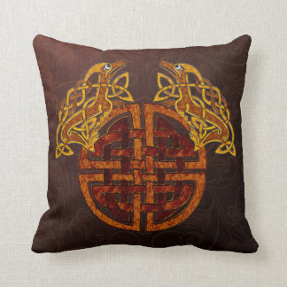 Traditional Celtic Collage Throw Pillow