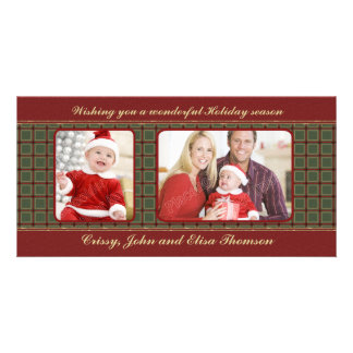 Traditional Christmas Design Picture Card