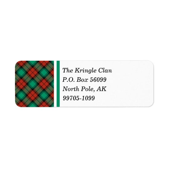 Traditional Christmas Plaid