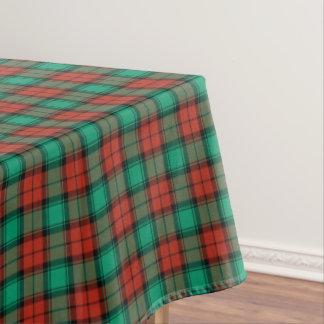 Traditional Christmas Plaid Tablecloth