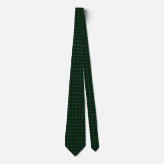 Traditional Clan Graham Tartan Plaid Tie