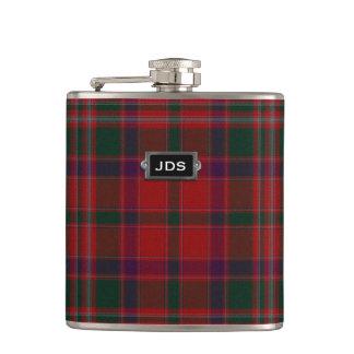Traditional Clan Stewart Tartan Plaid Flask