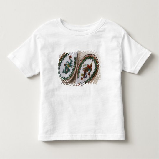 Traditional dragon and phoenix spoons toddler t-shirt