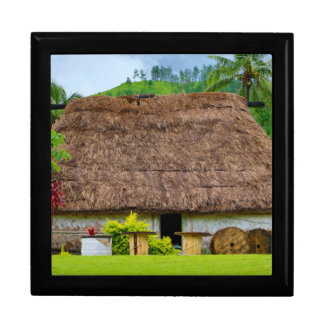 Traditional Fijian Bure, Navala Village, Fiji Gift Box