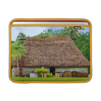 Traditional Fijian Bure, Navala Village, Fiji MacBook Sleeve