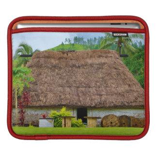 Traditional Fijian Bure, Navala Village, Fiji Sleeve For iPads