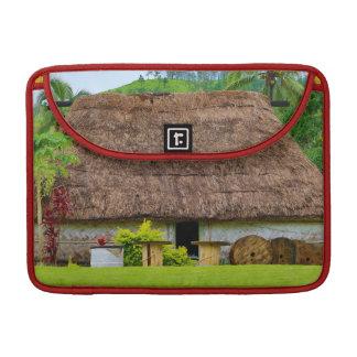 Traditional Fijian Bure, Navala Village, Fiji Sleeve For MacBooks