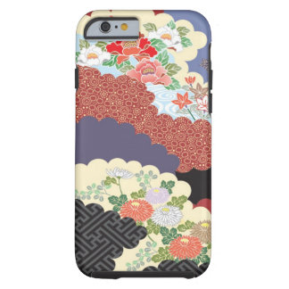 Traditional Floral design for iPhone 6 case Tough iPhone 6 Case